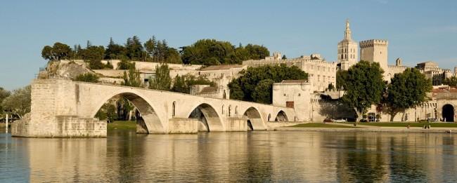 Pont d'Avignon dans le Vaucluse