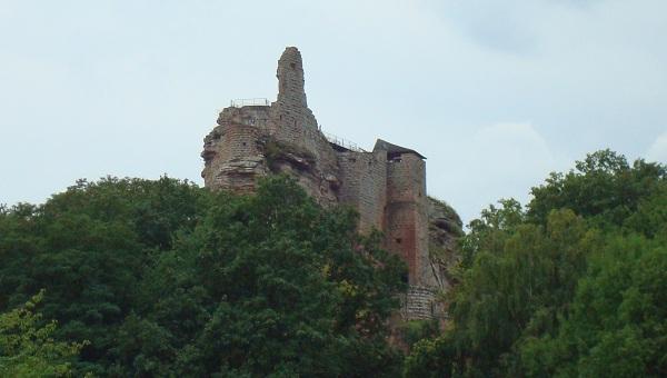 Le chateau du Fleckenstein en Alsace