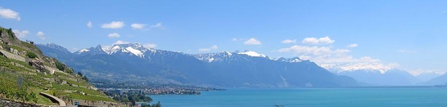 Le lac Léman en Haute Savoie