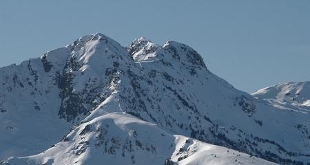 Station d'Ax les 3 domaines dans les Pyrénées