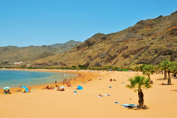 Une plage de Tenerife